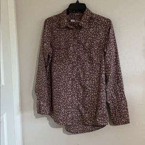 Woman's dress shirt, long sleeve